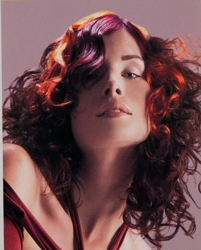 Naturally Curly Hairstyle From Goldwell
