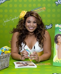 Jordin Sparks With Yellow Hair Flower