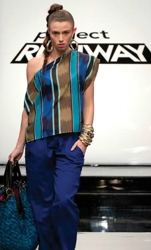 Kimberly Mini Runway Show Project Runway S9