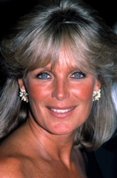Linda Evans With Silver Hair