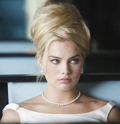 Beehive On Margot Robbie On Pan Am