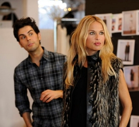 Rachel Zoe And Hairdresser Joey