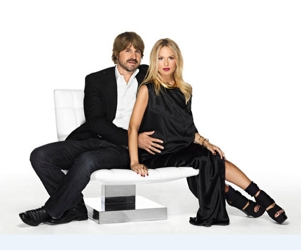Rachel Zoe With Rodger Berman