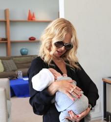 Rachel Zoe And New Baby