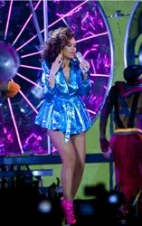 Rihanna As Brunette