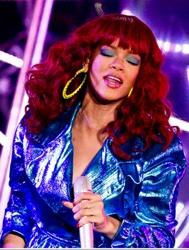 Rihanna As Red Hair