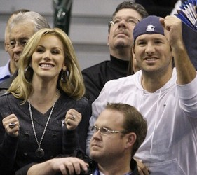 Tony Romo With Wife