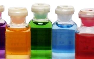 Multi-colored Bottles