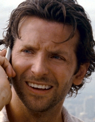 Bradley Cooper With Long Layered Haircut