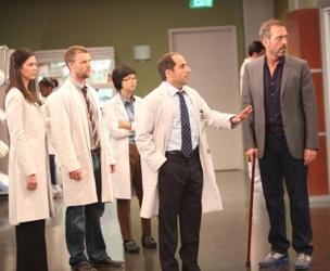 Dr. Jesse Spencer And Medical Team On House