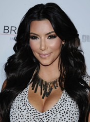 Kim Kardashian Had Pre Delivery Hair Extensions Installed