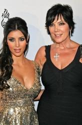 Kim Kardashian With Kris Jenner