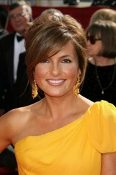 Mariska Hargitay With Crown Hair Bump