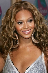 Beyonce Long Naturally Curly Hair