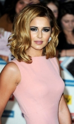 Cheryl Cole With Volume Infused Blonde Hair