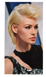 Short Hair Style With Hairline Pompadour