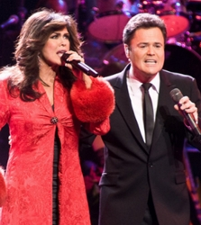 Marie Osmond With Brother Donnie