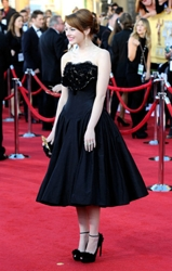 Emma Stone Red Carpet Updo