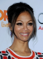 Zoe Saldana At Hollywood Palladium - December 4, 2011 - Los Angeles, California