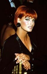 Linda Evangelista With 1990s Short Hairstyle