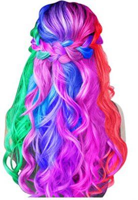 How To Chalk Dip Dye Your Hair - Image Of Popular Hair Chalk - Remenbrandt Hair Chalk