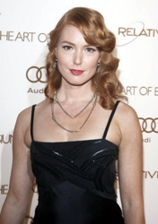 Alicia Witt With Chestnut Red Hair Color