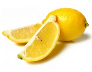 Cut Up Lemon Wedges