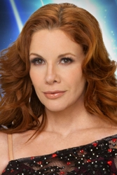 Melissa Gilbert With Auburn Red Hair