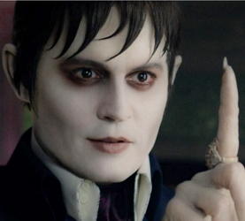 Johnny Depp As Barnabas Collins With Long Fingernails