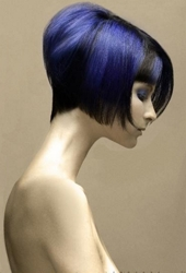 Rich Blue Haircolor From NAHA By Adriana Balea