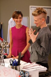 Kara Laricks With Pinned Up Short Hair - NBC Fashion Star
