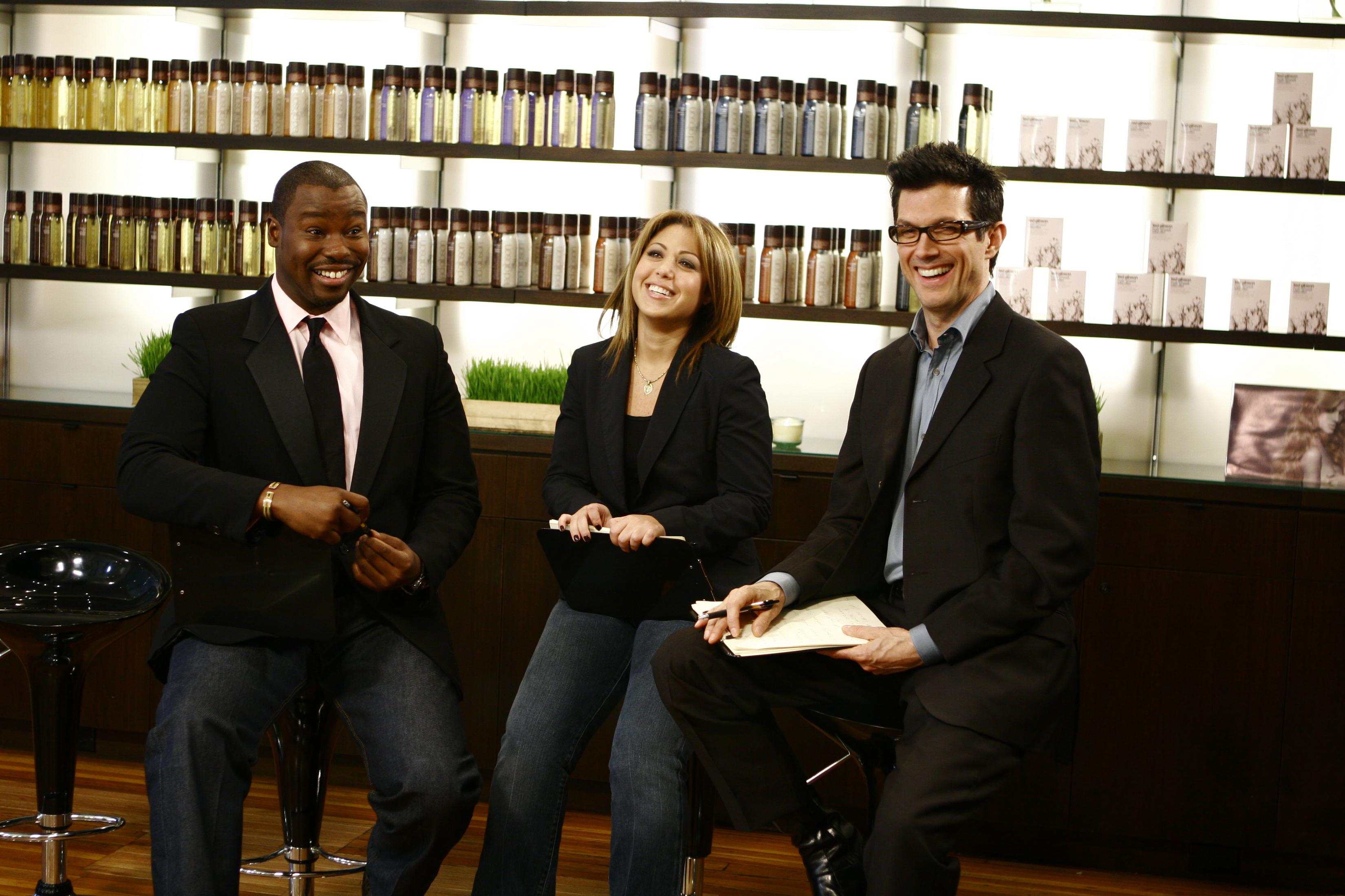 Rita Hazan With Ted Gibson & Mark Garrison
