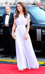 Kate MIddleton With Hair Down In Soft Waves