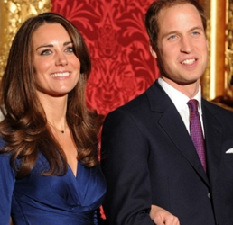 Kate Middleton In Famous Blue Dress