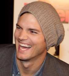 Ashton Kutcher Beanie Ashton Kutcher Wearing Knit