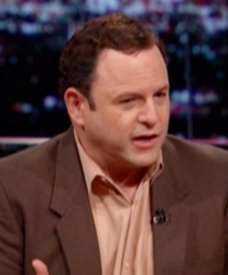 Jason Alexander With Hair Piece Covering Bald Head - HBO - Bill Maher