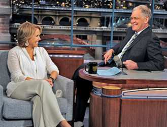 Katie Couric On Dave Letterman
