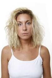 Chemically Damaged & Dry Platinum Blonde Hair
