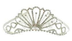 Karen Marie - Bridal Collection - Crystal Princess Tiara
