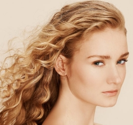 Long Light Wavy Golden Blonde Hair - Hair by Barbara Lhotan - HairBoutique.com - All Rights Reserved