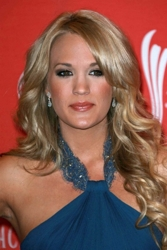 Carrie Underwood With Trademark Long Hairstyle