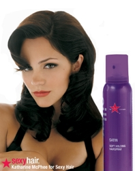 Katharine McPhee As Sexy Hair Celebrity Spokesperson