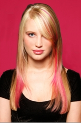 Rainbow Hair Color - Blonde With Hot Pink