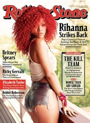 Rihanna On Cover Of Rolling Stone Magazine