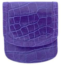Taxi Wallets® - Alligator Print - Purple