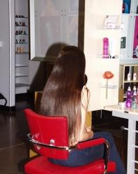 Hair Client Before A Hair Makeover