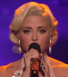 CeCe Frey With Baby Doll Updo Hairstyle on Fox/TV X Factor