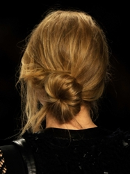 Hair Buns - Undone Side Knot - Hair by Jeanie Syfu For TRESemmé