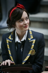 Leighton Meester Hair Secrets in 2007 On Gossip Girl