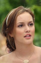 Leighton Meester Hair Secrets - Light Cinnamon Brunette Hair In Twist